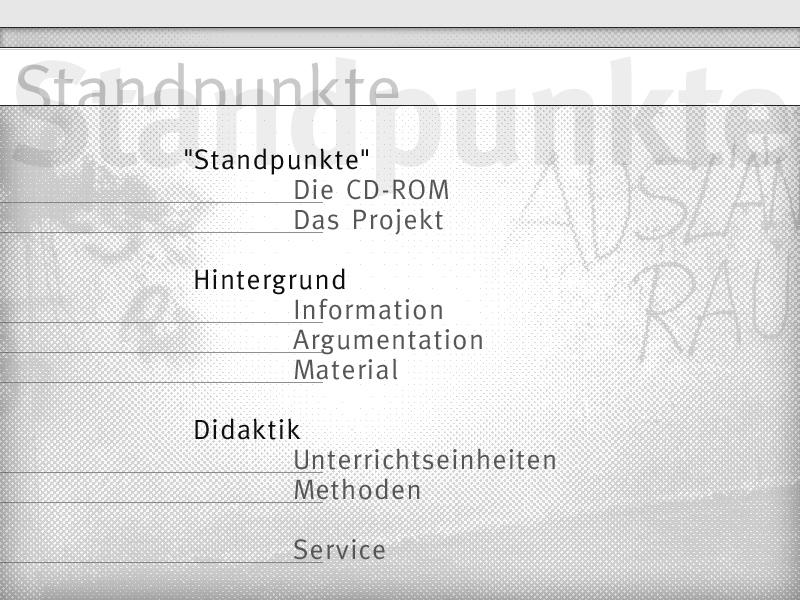 »Standpunkte CD-ROM«-2